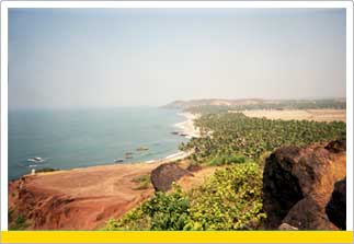 Tour to Anjuna Beach