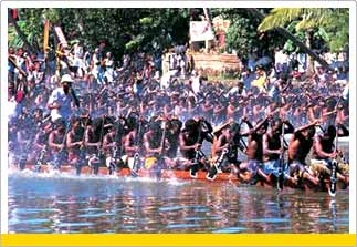 Boat Race at ALleppey